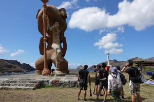 Nuku Hiva's Giant Tiki