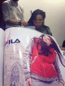 Shu Qi - FILA Advert