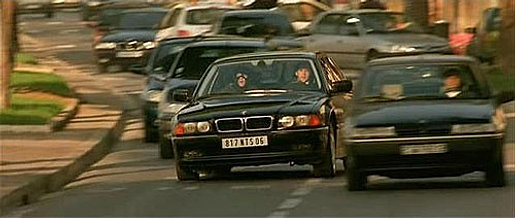 The transporter bmw chase