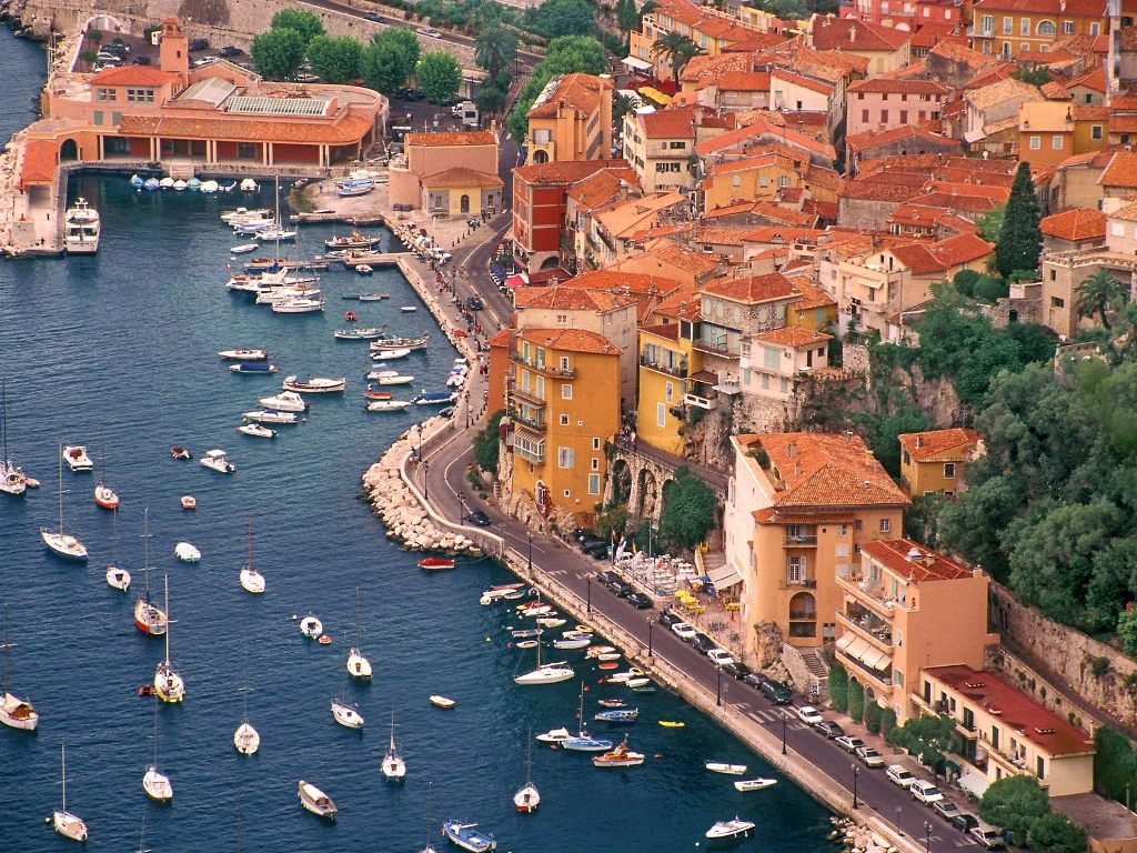 Villefranche Harbor France