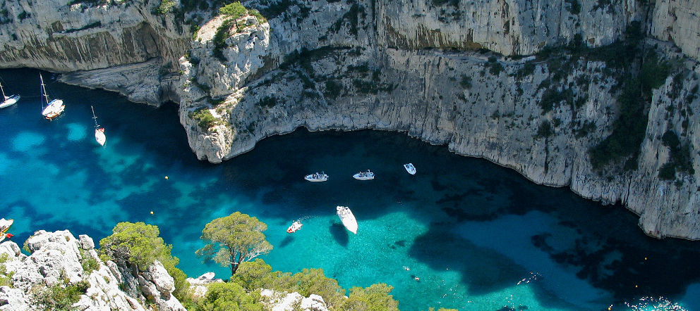 The Calanques Area - South of France