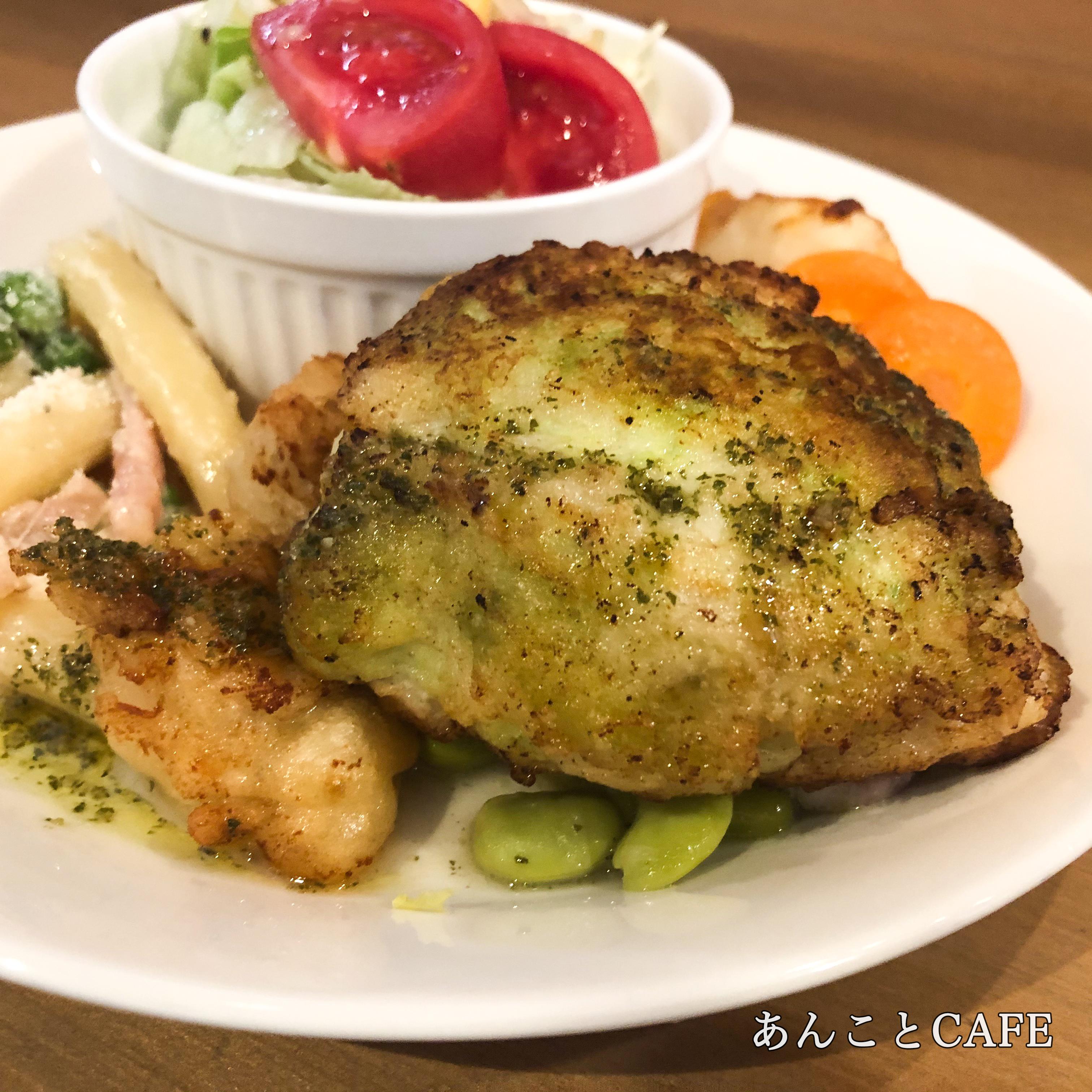 真鯛のパン粉焼き(本日のお魚料理)
