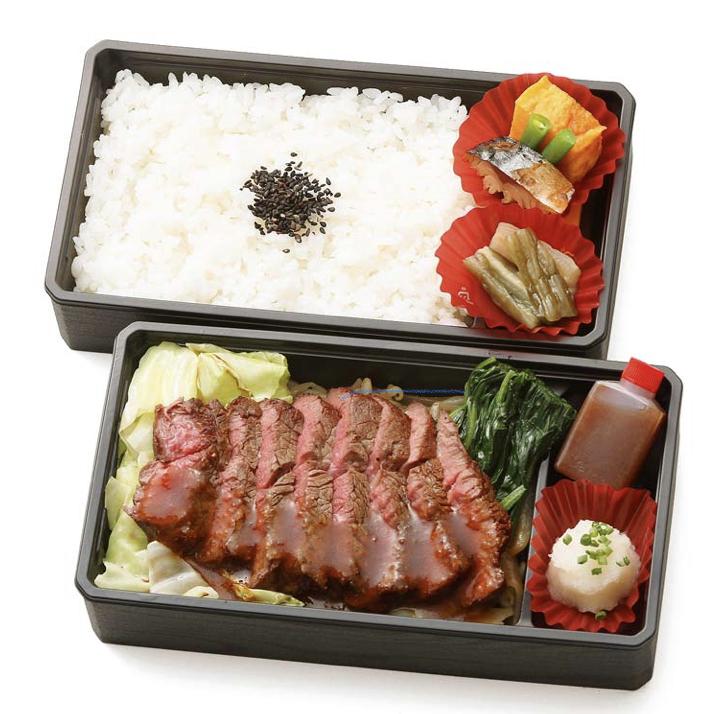 ステーキ重¥2800