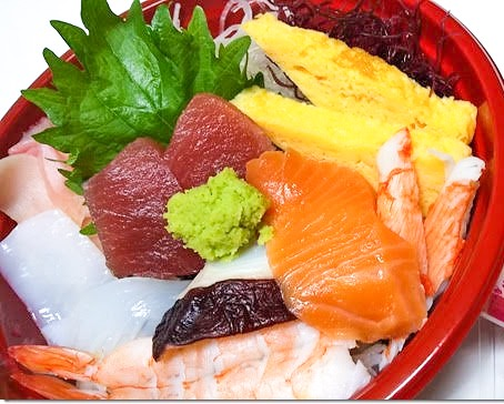 おまかせ海鮮丼