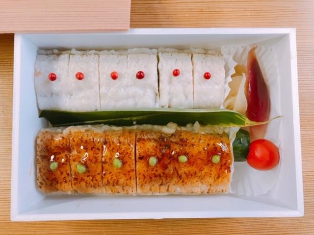 ハモの2色寿司
