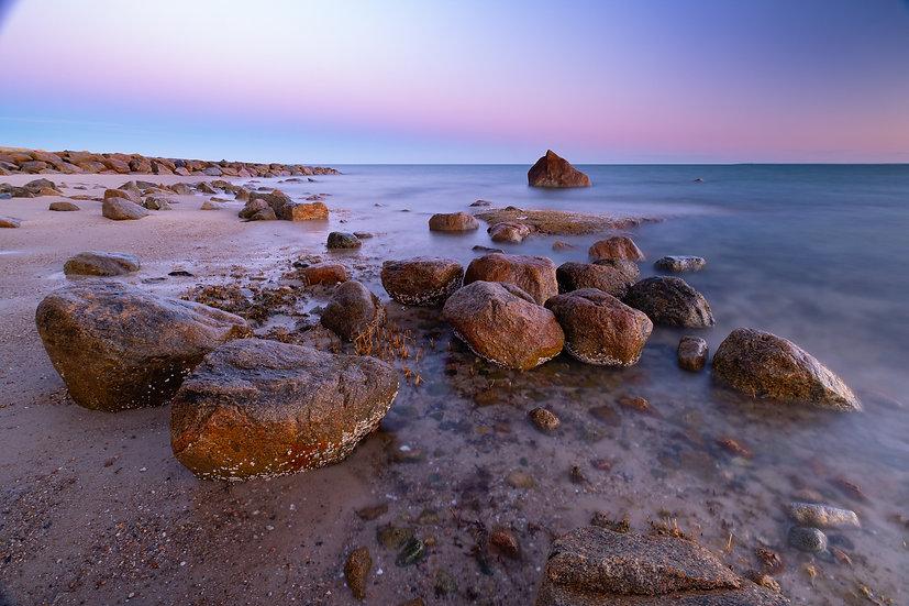 """Point of Rocks Twilight"""