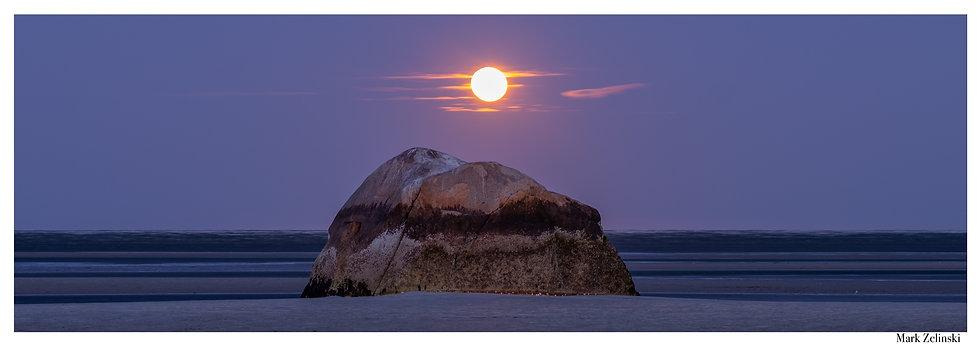 """""""Moonset at Rock Harbor"""""""