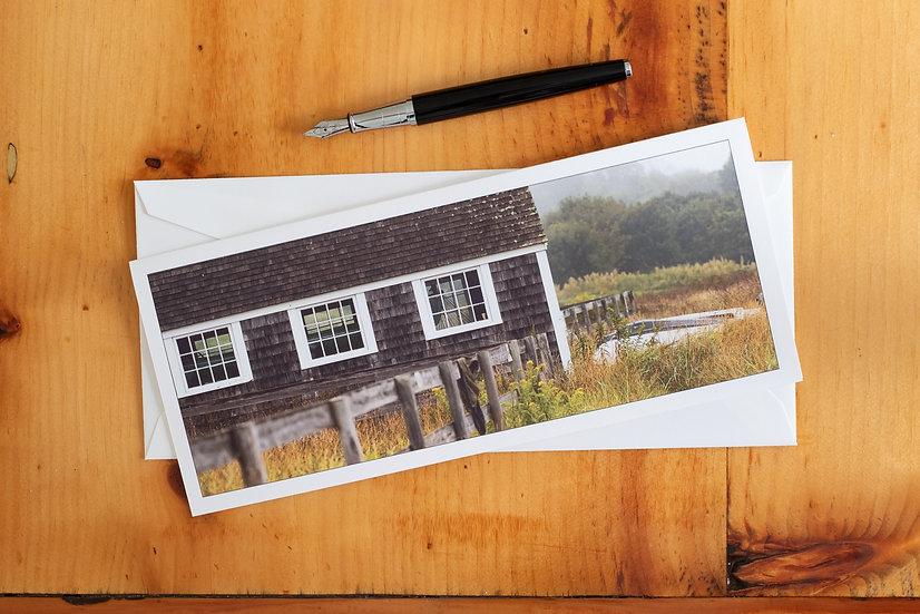 Vineyard Haven Boathouse (Set of 10)