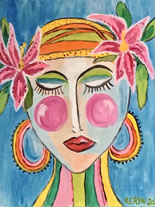Flower lady 3