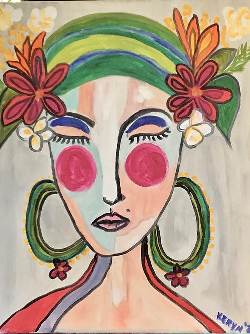 Flower Lady 1