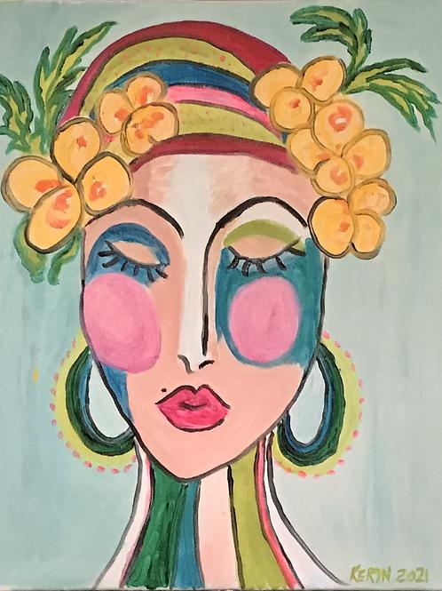Flower Lady 2