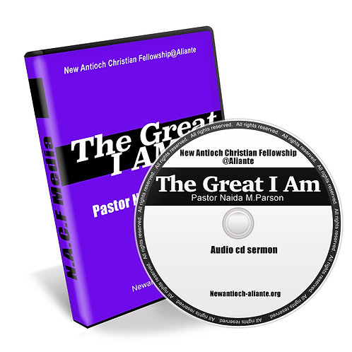 CD sermon-The Great I AM