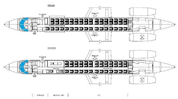 ERJ145 MEDEAC;ERJ135 MEDEVAC