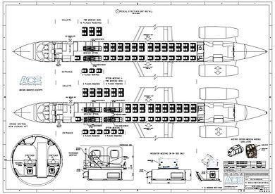 ACE2004-001-001 Medical Stretcher Units