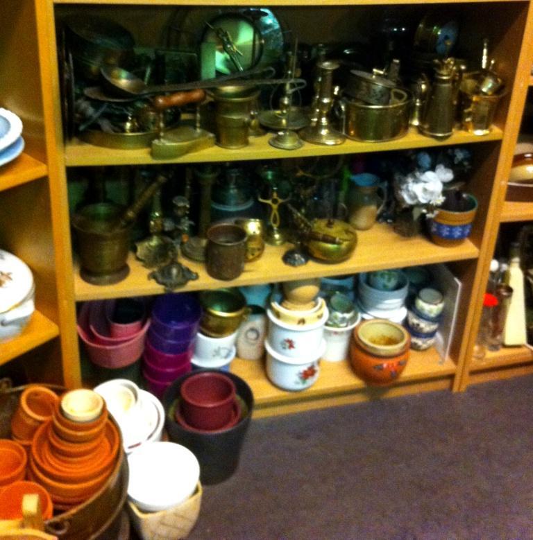 Keramik og metal ting