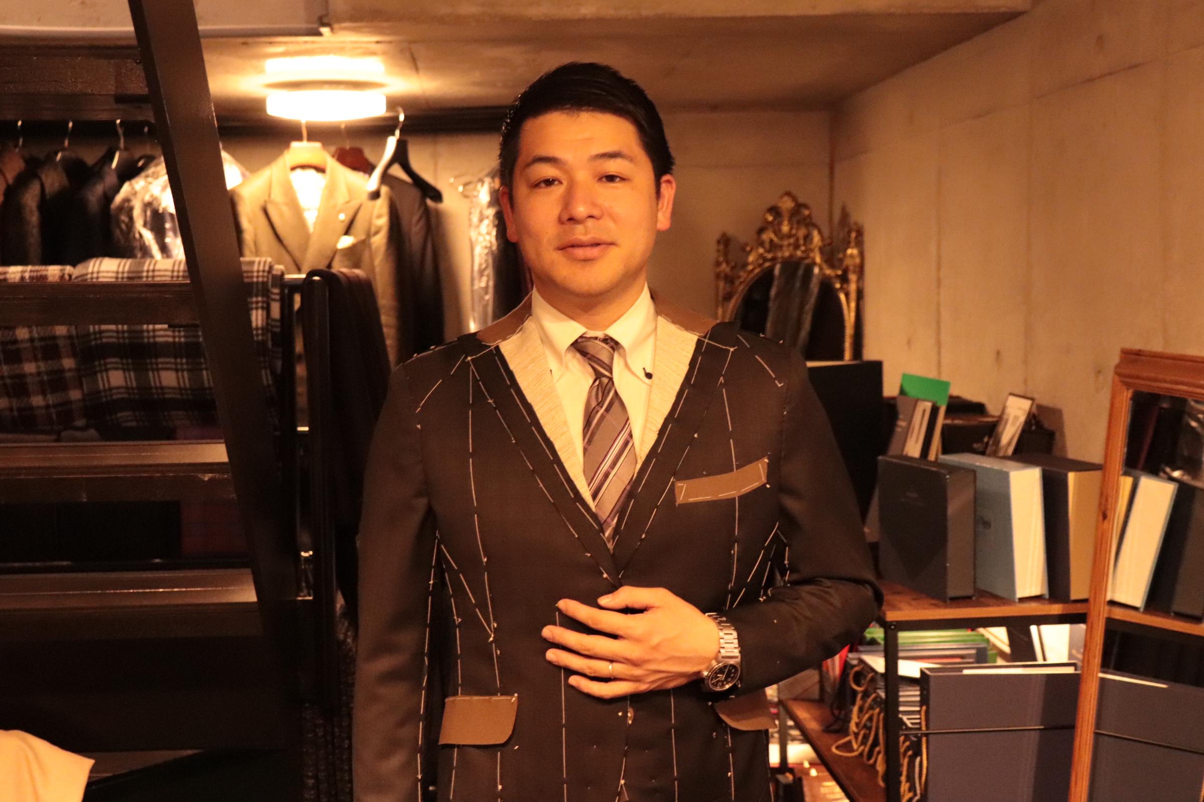 Y様仮縫い3