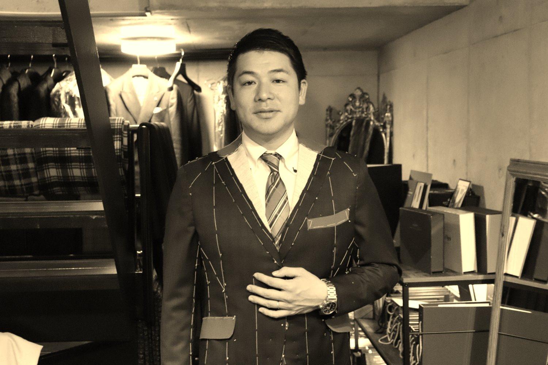 Y様仮縫いモノクロ