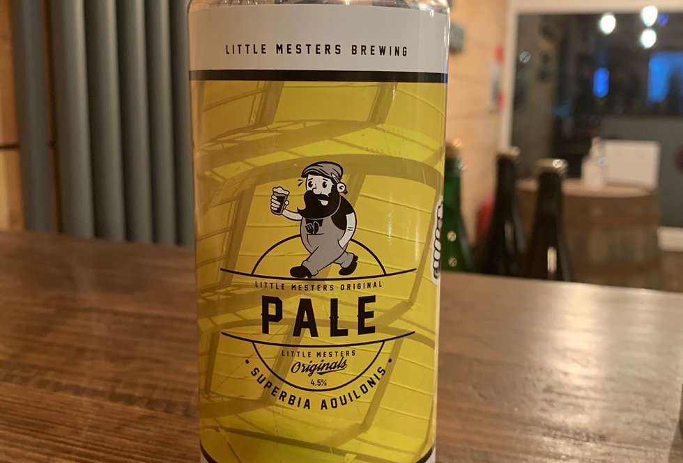Little mesters brewing- pale ale - 4.5%