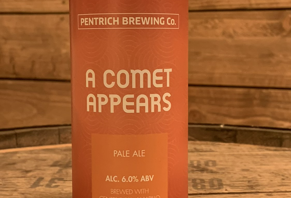 Pentrich brewing - a comet appears 6%