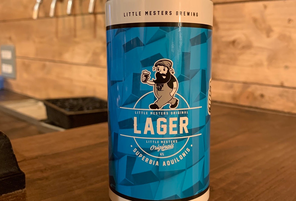 Little Mesters brewing- Original Lager 440ml Can