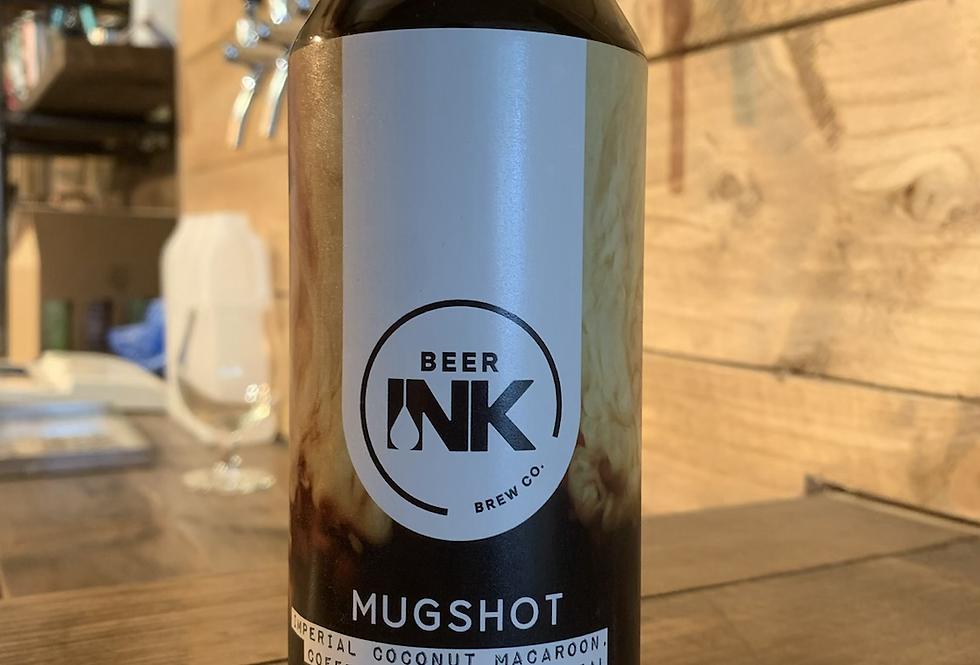 beer ink - mugshot, coconut macaroon stout