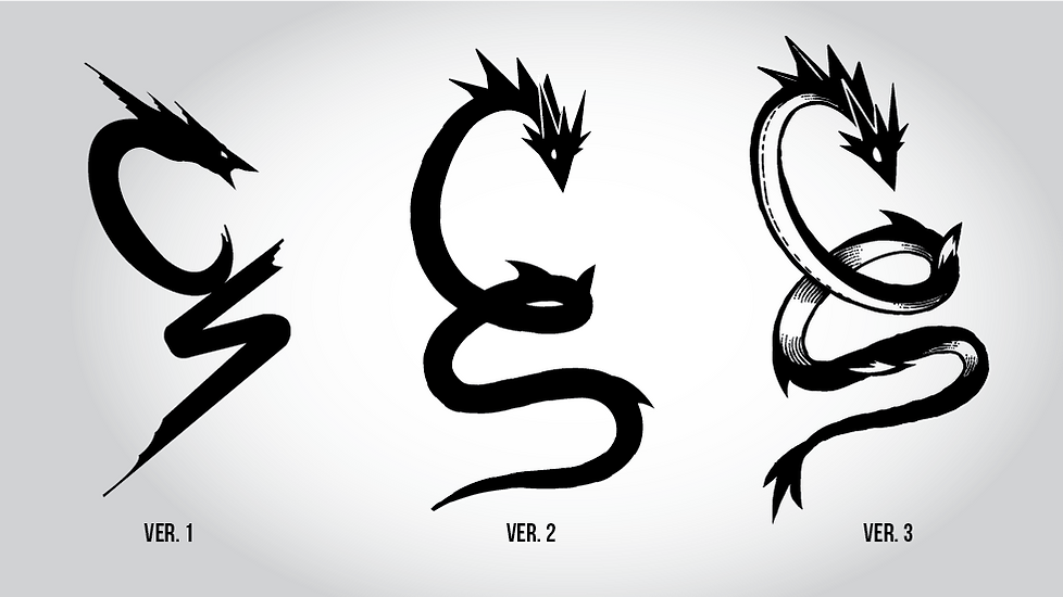 Leviathan Logo Evolution