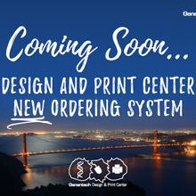 Genentech Design and Print Center Teaser Flyer