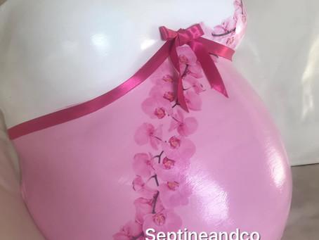 Buste de grossesse souvenir de votre grossesse avec Septine and co l'atelier du moulage