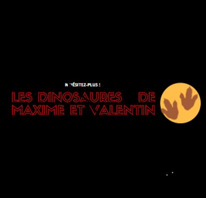 logo les dinosaures de maxime et valentin.png