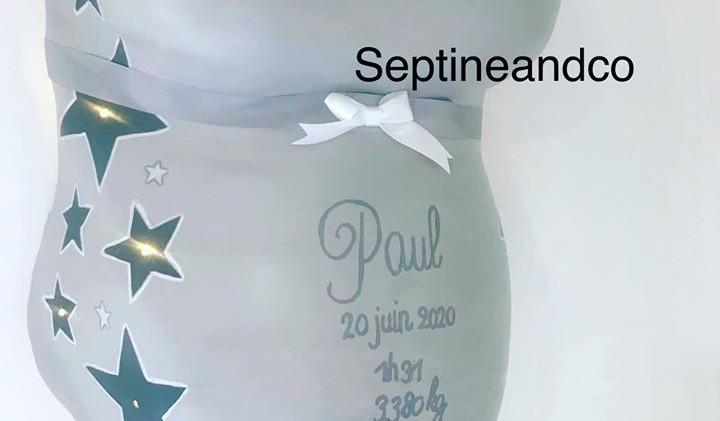 moulage femme enceinte platre septine and co essonne
