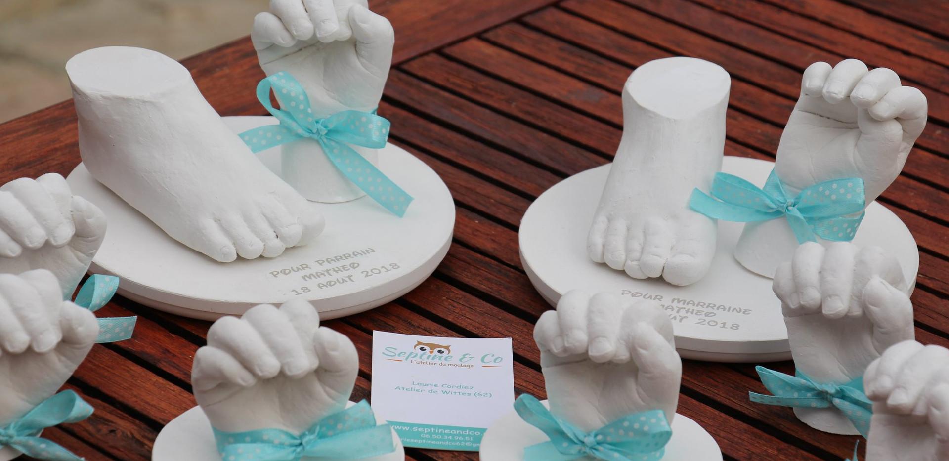 septine and co moulage 3D pas de calais nord pas de calais wittes empreintes 3D empreinte bébé souvneir de naissance grossesse moualge 3D