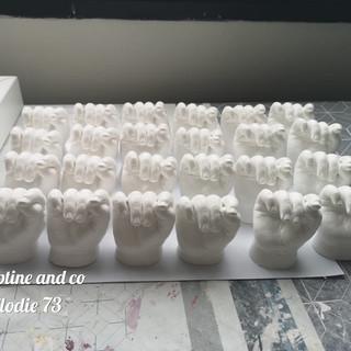 baptême septine and co cadeau invité cadeau de parrain marraine septine and co moulage 3D france