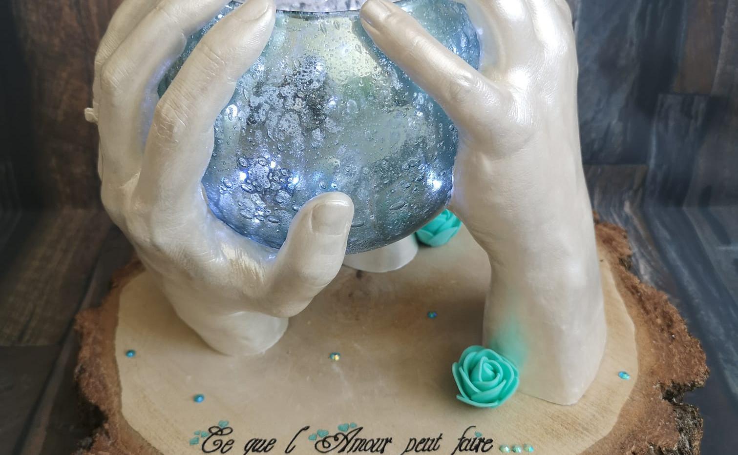 empreinte enfant empreinte bebe moulage 3d main en platre souenir de naissance cadeau de naissance septine and co chambery cognin grenoble savoie baby art bebe moulage hand  print hand casting