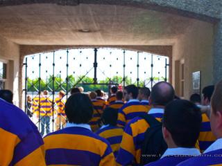 Glee Club entering Dachau.jpg