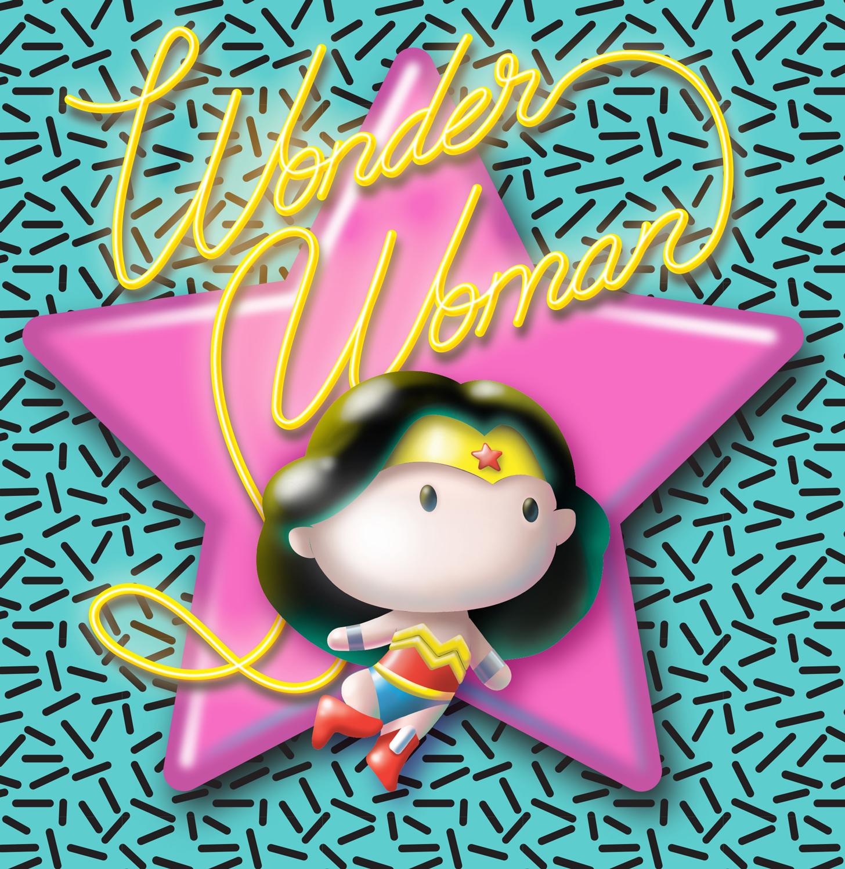 CHIBI WONDER WOMAN - DC COMICS