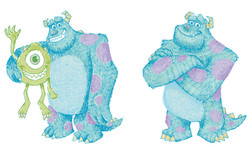 Sketchy Sully and Mike