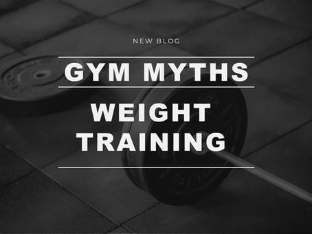 Weight training myths