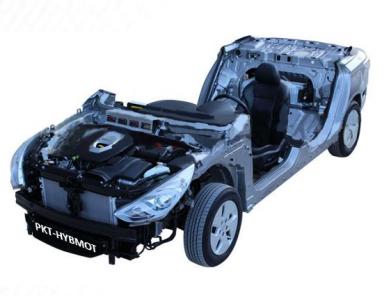 Motor Híbrido con panel de control de 6