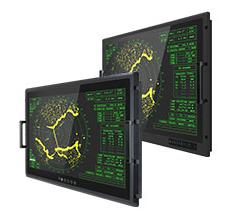 """Monitor de uso Militar 32 """"4K UHD para Montaje en Bastidor"""