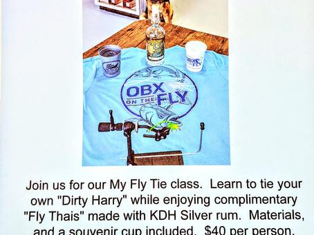 My Fly Tie Class