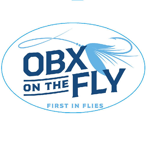 OBX On The Fly Sticker