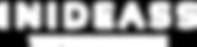 LOGO WHITE_INIDEASS ORIZZONTALE COLORE U