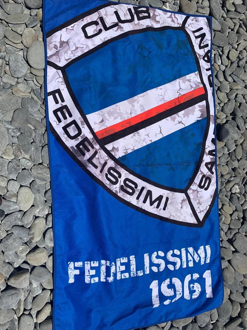 TELO MARE  - CLUB FEDELISSIMI SAMPDORIANI 1961 -