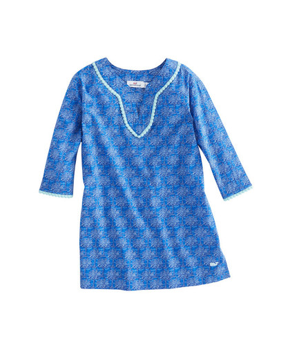 648007df35fa21 Kids Vineyard Vines Pallmetto Print Tunic- Size Medium (10/12)