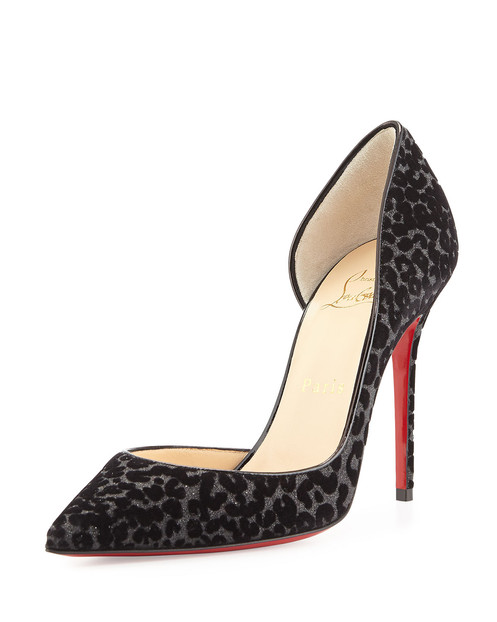 buy online 6f3b4 d3afe Christian Louboutin Iriza D'Orsay 120mm Heels - Size 37.5