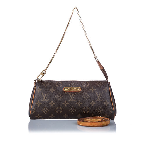 LouisVuitton Monogram Eva With Crossbody Strap
