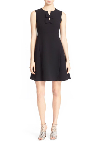 186899c0ad87 Kate Spade 'Kite Bow' Crepe Fit & Flare Dress - Size 0