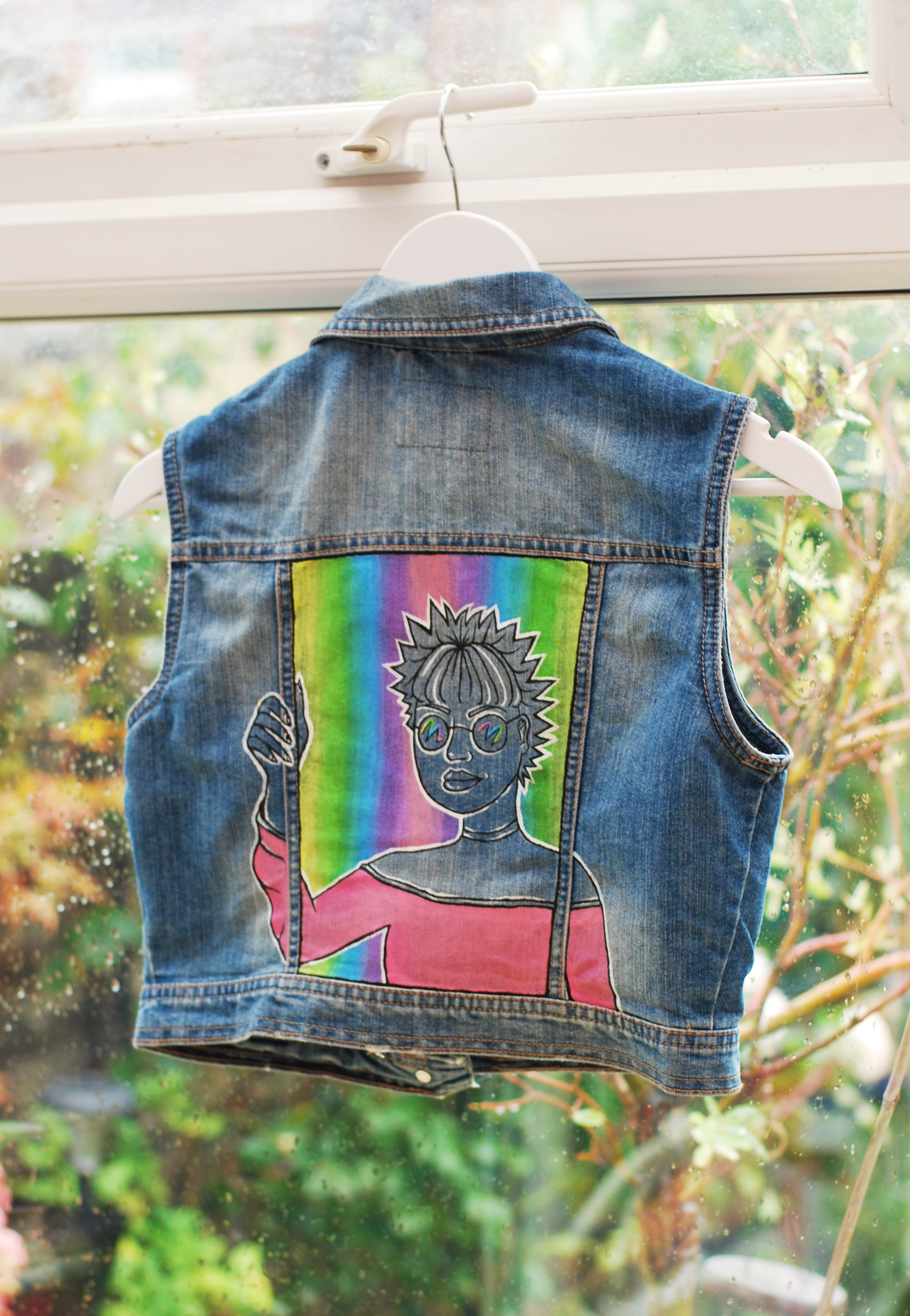 Rainbow Woman (back)