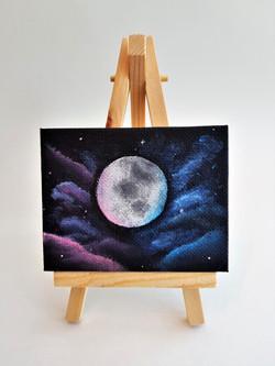 2018 Mini Canvas - Moon