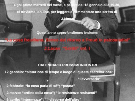 I Martedì del Forum Psicoanalitico Lacaniano